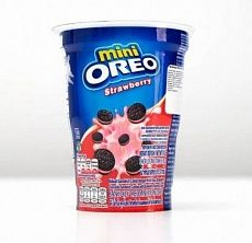 Печенье Oreo Mini Strawberry, 61.3 г (Годен до 18.02.2021)